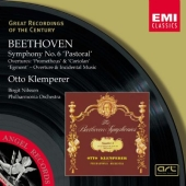 Album artwork for Beethoven: Symphony No. 6, Overtures (Klemperer)