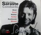 Album artwork for Jukka-Pekka Saraste conducts Ravel, Bizet, Mahler,