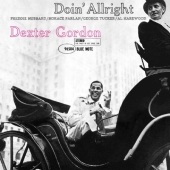 Album artwork for DEXTER GORDON - DOIN' ALLRIGHT (RVG)