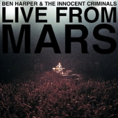 Album artwork for LIVE FROM MARS