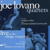 Album artwork for Joe Lovano: Quartets Live at  the Village Vanguard