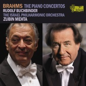 Album artwork for Johannes Brahms: Piano concertos Buchbinder/Mehta