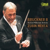 Album artwork for BRUCKNER. Symphony No.8. Israel Philharmonic/Mehta
