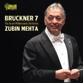 Album artwork for BRUCKNER. Symphony No.7. Israel Philharmonic/Mehta