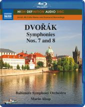 Album artwork for Dvorak: Symphonies nos. 7 and 8