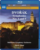 Album artwork for Dvorak: Symphonies nos. 6 and 9