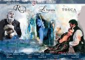 Album artwork for 3 Live Films: Rigoletto in Mantua - La Traviata in
