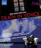Album artwork for Britten: Death in Venice