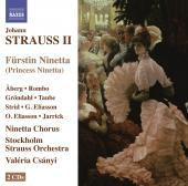 Album artwork for J. Strauss II: Furstin Ninetta