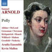 Album artwork for Samuel Arnold: Polly / Aradia Ensemble, Mallon