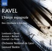 Album artwork for Ravel: L'heure espagnole, M. 52 & Don Quichotte à