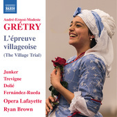 Album artwork for Grétry: L'épreuve villageoise