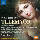 Album artwork for Mayr: Telemaco