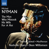 Album artwork for Michael Nyman: The Man Who Mistook His Wife for a