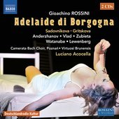 Album artwork for Rossini: Adelaide di Borgogna