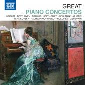 Album artwork for Great Piano Concertos - 10 CD set