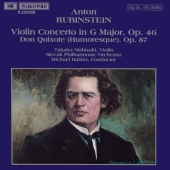 Album artwork for RUBINSTEIN: VIOLIN CONCERTO