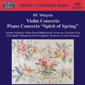 Album artwork for MINGXIN: VIOLIN CONCERTO, PIANO CONCERTO