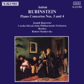 Album artwork for RUBINSTEIN: PIANO CONCERTOS NOS.3 & 4