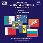 Album artwork for NATIONAL ANTHEMS OF THE WORLD, VOL. 1
