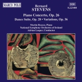 Album artwork for Stevens: PIANO CONCERTO, DANCE SUITE