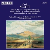 Album artwork for SCOTT: ORCHESTRAL WORKS