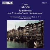 Album artwork for GLASS: SYMPHONIES NOS. 5 & 6