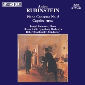 Album artwork for RUBINSTEIN: PIANO CONCERTO NO.5