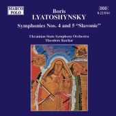 Album artwork for Lyatoshynsky: Symphonies 4 & 5
