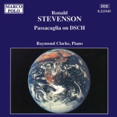 Album artwork for Stevenson: Passacaglia on DSCH