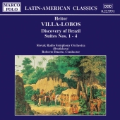 Album artwork for DISCOVERY OF BRAZIL: SUITES NOS. 1-4