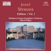 Album artwork for STRAUSS: JOSEF STRAUSS EDITION, VOL.1