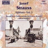 Album artwork for STRAUSS: JOSEF STRAUSS EDITION, VOL.3