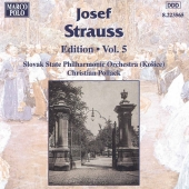 Album artwork for STRAUSS: JOSEF STRAUSS EDITION, VOL. 5