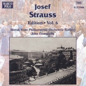 Album artwork for STRAUSS: JOSEF STRAUSS EDITION, VOL.6