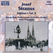 Album artwork for STRAUSS: JOSEF STRAUSS EDITION, VOL.8