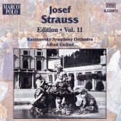 Album artwork for STRAUSS: JOSEF STRAUSS EDITION, VOL.11