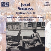 Album artwork for STRAUSS: JOSEF STRAUSS EDITION, VOL.12