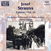 Album artwork for STRAUSS: JOSEF STRAUSS EDITION, VOL.14