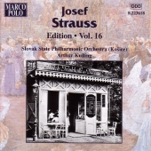 Album artwork for STRAUSS: JOSEF STRAUSS EDITION, VOL.16