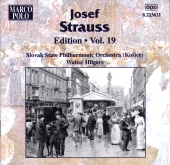 Album artwork for STRAUSS: JOSEF STRAUSS EDITION, VOL. 19