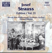 Album artwork for STRAUSS: JOSEF STRAUSS EDITION, VOL.21