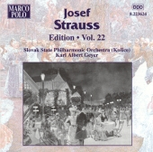Album artwork for STRAUSS: JOSEF STRAUSS EDITION, VOL.22