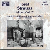Album artwork for STRAUSS: JOSEF STRAUSS EDITION, VOL.23