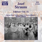 Album artwork for JOSEF STRAUSS EDITION VOL. 25