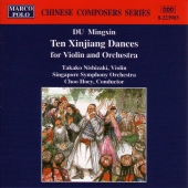 Album artwork for TEN XINJIANG DANCES