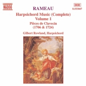 Album artwork for Rameau: Harpsichord Music Vol 1