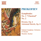 Album artwork for Prokofiev - Symphony No.1, No.2