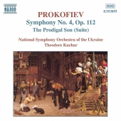 Album artwork for Prokofiev: Symphony 4, The Prodigal Son / Kuchar