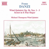 Album artwork for WIND QUINTETS OP. 56, NOS. 1-3 / SEXTET